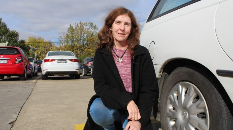 Local resident and business-owner Andrea Collins is supporting the Gisborne Roads and Transport Group's push to make parking in Gisborne's CBD a high priority.