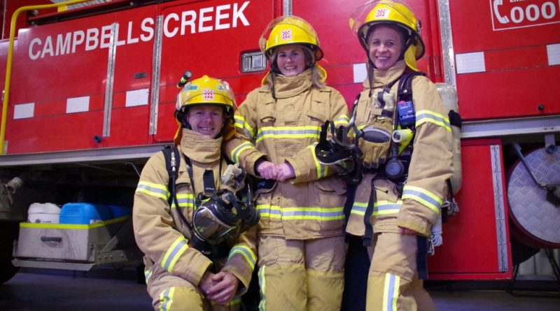 CFA, Stair climb, Campbells Creek, Firefighters, challenge, mental illness