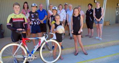 Representatives from the user groups at Wesley Hill Recreation Reserve received the keys to the new multi-use pavilion .