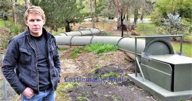 Waterslide permit refused