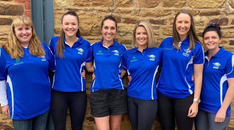 Newstead FNC's new look netball coaching team.